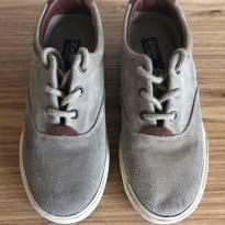 Sapato Nobuck Caqui Polo Ralph Lauren - 30 - Ralph Lauren