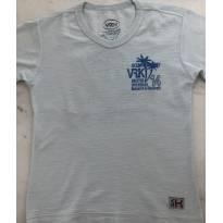 Camiseta azul claro VR kids - 6 anos - VR Kids