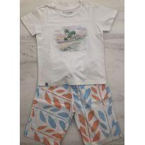 Camiseta Estampa Aquarela Richards - 4 anos - Richards Kids