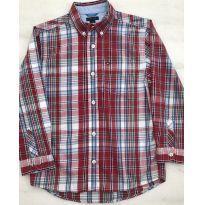 Camisa Xadrezinha Tommy - 7 anos - Tommy Hilfiger