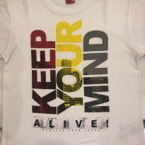 Camiseta Keep Your Mind - 8 anos - Kyly