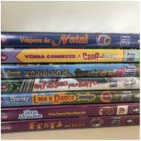 Kit 7 DVDs Barney e Seus amigos -  - Não informada