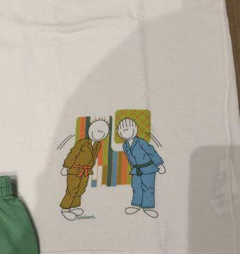 Pijama Sonhart manga curta e short verde - 9 anos - Sonhart