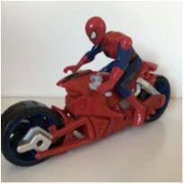 Moto de corrida Homem Aranha -  - Não informada