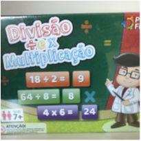 Jogo Divisão e Multiplicação País e Filhos -  - Marca não registrada