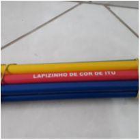 Kit com 10 Lápis de cor Gigante -  - Não informada