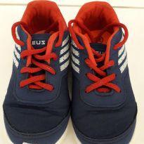 Tenis infantil masculino azul/vermelho - 21 - Sem marca
