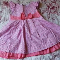 Vestido lilás, tamanho 3 - 3 anos - George
