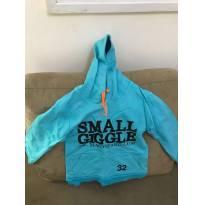 Blusa de Moleton Azul Royal tamanho 3 - 24 a 36 meses - Não informada
