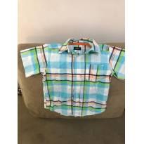 Camisa manga curta Xadrez Carters tamanho 2 - 2 anos - Carter`s