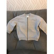 Blusa de Moleton Malwee com ziper tamanho 3 - 3 anos - Malwee