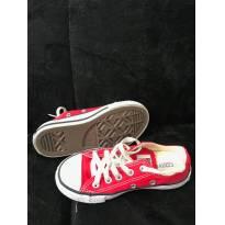 Tenis cano baixo All Star Converse Chuck Taylor Vermelho tamanho 26 - 26 - ALL STAR - Converse