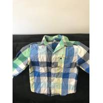 Camisa manga longa Xadrez Carters tamanho 4t - 4 anos - Carter`s