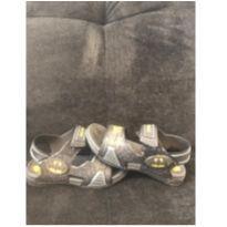 Sandalia Grandene de velcro Marvel Batman tamanho 26/27 - 26 - MARVEL