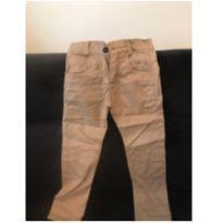 Calça de Sarja Marrom tamanho 4 - 4 anos - Não informada