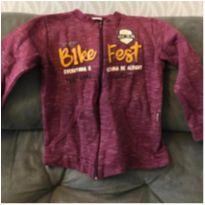 Blusa de Moleton com ziper Kiko tamanho 4