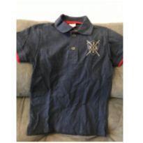 Camisa Polo Hering Marinho tamanho 6 - 4 anos - Hering Kids