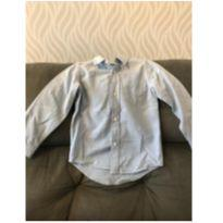 Camisa Social Azul Jeans ML The Childrens Place 5T
