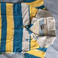 Camisa polo - 3 a 6 meses - Puc Baby
