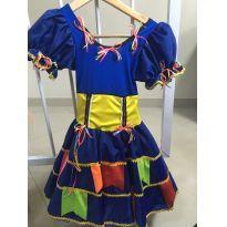 Vestido Caipira chick -  - Festa Junina