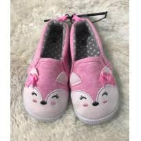 Sapato Raposinha Rosa - 21 - Não informada