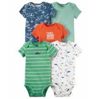 Kit Body Carters 5 Peças Original - 0 a 3 meses - Carter`s e carter`s, baby gap, zara
