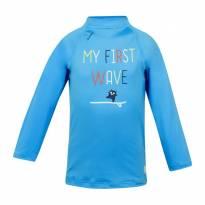 Camiseta Com Proteção Solar Para Bebê Uv50+ - Azul - Único - Importado