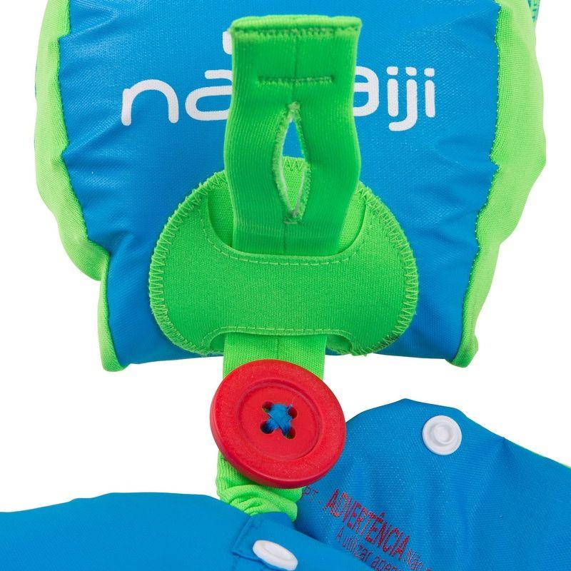 Colete Evolutivo Inflável Cinto E Boiá Para Crianças 15-30kg Azul. Tiswim é  um colete com braçadeiras removíveis e confortáveis especialmente  desenvolvido ... fe3f7b5401c
