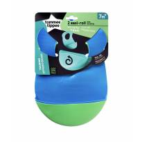 Babador De Silicone| Tommee Tippee | Kit Com 2 Unidades -  - Tommee Tippee