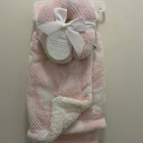 Cobertor dupla face com apoio para cabeça - Sem faixa etaria - Importada