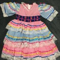 Vestido Caipira ! Categoria LUXO ! - 5 anos - Sem marca