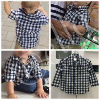 Camisa Xadrez Carter's Original 12-18 meses - 12 a 18 meses - Carter`s