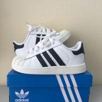 Tênis Adidas Original Superstar Infantil Nº 23/24 - 23 - Adidas