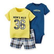 Conj. Carter's Original Amarelo (12-18 meses) - 12 a 18 meses - Carter`s