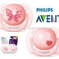 Chupetas Ortodônticas Avent Ultra Soft (0-6 Meses) - Sem faixa etaria - Avent Philips