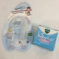 Vick BabyRub Importado + Aspirador Nasal Sana Babies - Sem faixa etaria - Vick Baby