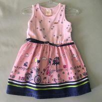 Vestido C/ Cinto Marisol (18-24 Meses) - 18 a 24 meses - Marisol