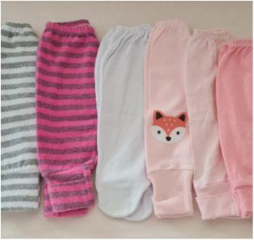 Conjunto do calças - 6 a 9 meses - Não informada