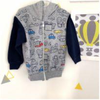Jaqueta de frio carrinhos - 2 anos - sem etiqueta