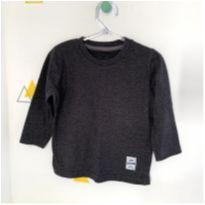 Blusa básica de frio cinza - 1 ano - Póim