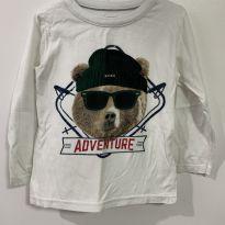 Blusa de frio com urso - 18 a 24 meses - Mineral Kids