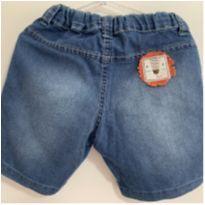 Bermuda jeans alphabeto - 1 ano - Alphabeto
