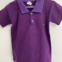 Camisa polo roxa - 2 anos - Sem marca