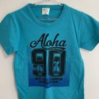 Blusa azul aloha - 3 anos - Sem marca