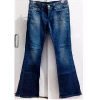 Calça Jeans Carmim 44 - G - 44 - 46 - Carmim