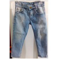 Calça Jeans Elástico Regulável - 18 meses - Bob Bandeira