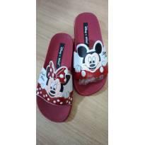 Chinelinho Minie e Mickey - 29 - Réplica