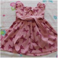 Vestido de lacinho - 12 a 18 meses - Akzo