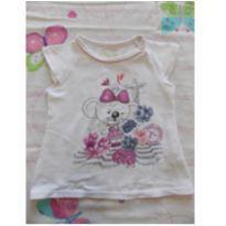 Blusinha básica - 12 a 18 meses - Lilica Ripilica Baby