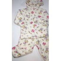 Conjunto em Soft/Fleece - Castelo Encantado - 9 a 12 meses - ratelzinho Baby